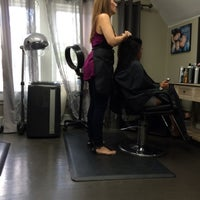Photo taken at Augusta Place Salon by Lisa G. on 6/4/2015