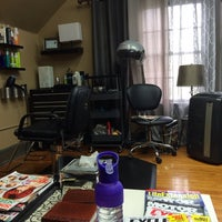 Photo taken at Augusta Place Salon by Lisa G. on 5/27/2014
