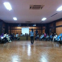 Photo taken at Gedung IV FIB by Indra H. on 10/4/2012