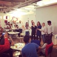 Photo taken at ImpactHub Stockholm by Anurag C. on 9/16/2014