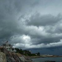 Photo taken at Beach Bluff Park by Лола Н. on 2/13/2014