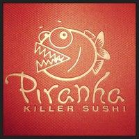 Photo taken at Piranha Killer Sushi by Kelley M. on 9/15/2013