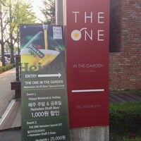 Photo taken at THE ONE In The Garden by Christine P. on 7/24/2013
