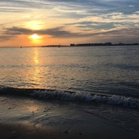Photo taken at Breezy Point Beach by Marcelle on 8/27/2016