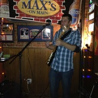 Photo taken at Max's on Main by Marcelle on 11/18/2012