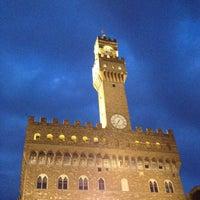 Photo taken at Piazza della Signoria by Marcelle on 10/11/2014