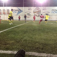 "Photo taken at Cancha de Fútbol ""Victoria 7"" by Menny M. on 4/19/2014"