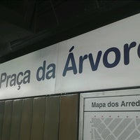 Foto tirada no(a) Estação Praça da Árvore (Metrô) por Luzia S. em 11/2/2012