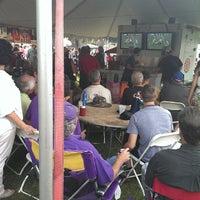 Photo taken at Festival Acadiens Et Creoles by Paul K. on 10/12/2013
