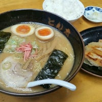 Photo taken at ラーメンとん太 by あきのこ on 10/29/2016