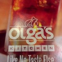Photo taken at Olga's Kitchen by Daneya T. on 10/23/2012