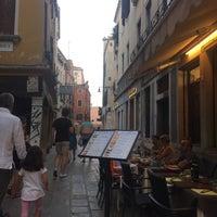 Photo taken at Rio Frari, Veneza by Ilkeee Y. on 9/1/2016