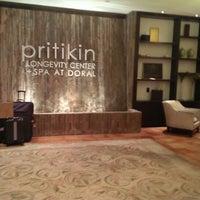 Photo taken at The Pritikin Longevity Center + Spa by Tim W. on 12/1/2013