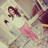 Photo taken at akdeniz bayan kuaförü by Sariye Y. on 5/25/2014