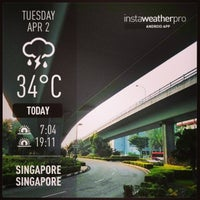 Photo taken at Bishan Flyover by Ma S. on 4/1/2013