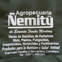 Photo taken at Nemity Agropecuaria by Aníbal M. on 3/5/2014