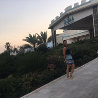 Photo taken at Daima Resort Beach Kemer by Seçil on 9/16/2016