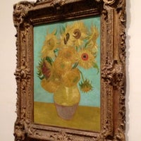 Photo taken at Sunflowers by Vincent Willem van Gogh by stepher on 7/16/2014