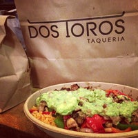 Photo taken at Dos Toros Taqueria by Nikelii B. on 3/31/2013