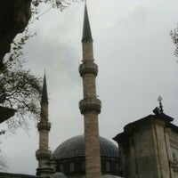 Photo taken at Eyüp Sultan Camii by Cansu K. on 4/19/2015