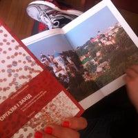 Photo taken at Книгарня «Є» by Tanya M. on 5/18/2014
