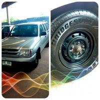 Photo taken at Toyota Prachuab Kirikhan by Wit T. on 7/6/2013