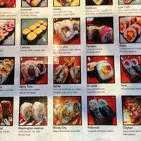 Photo taken at Wasabi Sushi Centennial by Abhishek on 12/12/2012
