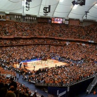 Photo taken at Carrier Dome by Tori on 3/3/2012
