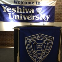 Photo taken at Yeshiva University - Wilf Campus by Mel C. on 3/8/2012