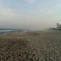 Photo taken at Brant Beach by Jon C. on 7/7/2012