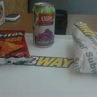 Photo taken at Subway by Ezequiel M. on 9/1/2012
