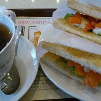 Photo taken at CAFÉ de CRIÉ by yuki i. on 2/26/2012