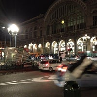 Photo taken at Torino Porta Nuova Railway Station (TPY) by Marco B. on 5/6/2012