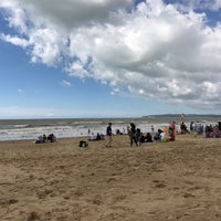 Photo taken at Camber Sands Beach by Paul S. on 7/23/2017