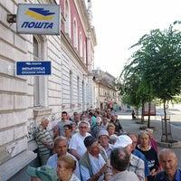 Photo taken at Pošta 80 by Milos D. on 7/9/2016