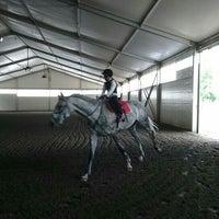 Photo taken at Konjički sportski centar ''L'amour du cheval'' by Milos D. on 6/15/2016