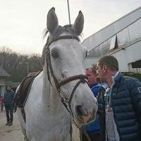 Photo taken at Konjički sportski centar ''L'amour du cheval'' by Milos D. on 3/5/2016
