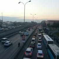Photo taken at Avcılar İETT Durağı by Saniye . on 10/7/2015