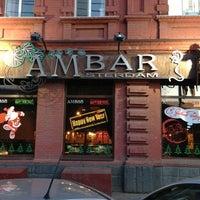 Снимок сделан в Амбар / Amsterdam Bar (Ambar) пользователем iBLP 1/15/2013