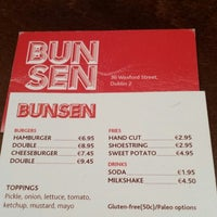Photo taken at Bunsen by Rami J. on 2/15/2014