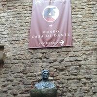 Photo taken at Museo Casa di Dante by Marco E. on 3/29/2013