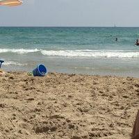 Photo taken at Playa del Tabal_La Manga by MªRosa L. on 8/5/2013