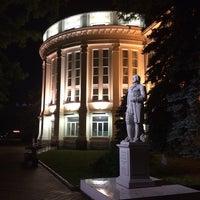 Photo taken at Памятник Ломоносову by Mikhail O. on 6/1/2014