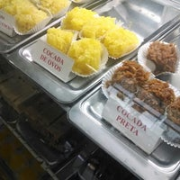 Photo taken at Confeitaria Casa do Coco Bomfati by Ali A. on 4/1/2014