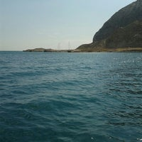 Photo taken at Παραλία Κρυονερίου by Christie K. on 6/21/2015