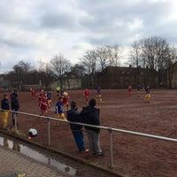 Photo taken at SVE Redingskamp by Frank L. on 2/22/2014