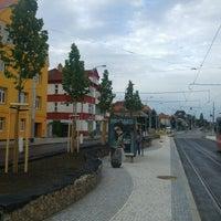 Photo taken at Průběžná (tram) by Petr M. on 8/10/2016