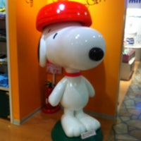 Photo taken at Snoopy Town Shop by pineforest_m on 3/9/2013