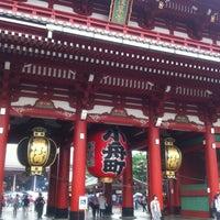 Photo taken at Hozomon Gate by pineforest_m on 6/21/2013