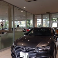 Photo taken at audi八王子 by pineforest_m on 9/17/2017